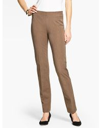 Talbots - Refined Bi-stretch Side-zip Slim Leg - Lyst