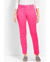 Talbots - Hampshire Ankle Pant - Curvy Fit - Lyst