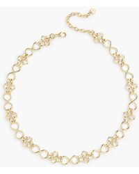 Talbots - Classic Metal Rings Necklace - Lyst