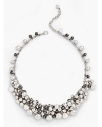 Talbots - Petite Bells Statement Necklace - Lyst