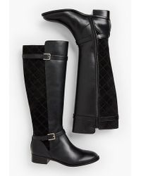 Talbots - Tish Riding Boots - Lyst