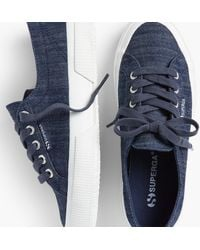 Talbots Superga(r) Sneakers - Blue
