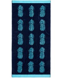 Talbots - Poolside Pineapple Beach Towel - Lyst