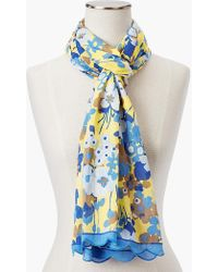 Talbots - Floral Bouquet Scarf - Lyst