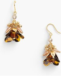 Talbots - Tort And Beads Drop Earring - Lyst