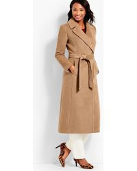 Talbots | Luxe Camel Hair Coat | Lyst