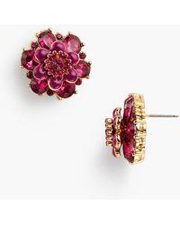 Talbots - Rsvp - English Garden Stud Earrings - Lyst