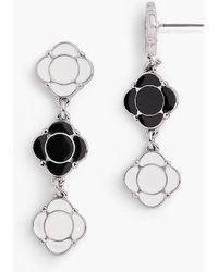 Talbots - Geometric Drop Earrings - Lyst