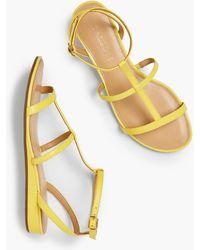 Talbots Daisy Gladiator Micro-wedge Sandals