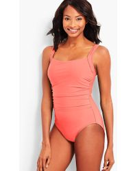 Talbots - Cabana One-piece-solid - Lyst