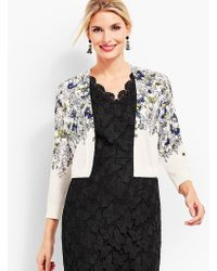 Talbots - Playful Butterfly Classic Dress Shrug - Lyst