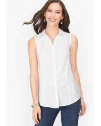 Talbots Perfect Shirt - White
