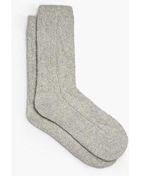 Talbots - Melange Lofty Winter Sock - Lyst