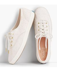 Talbots Keds(tm) Champion Trainers - White