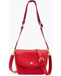 Talbots Webbed Strap Crossbody Bag - Red