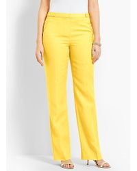 Talbots - Windsor Wide-leg Pant - Curvy Fit/fully Lined - Lyst