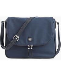 Talbots T By Crossbody Bag - Blue