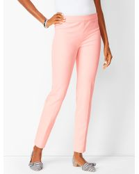 Talbots Chatham Ankle Pants - Pink