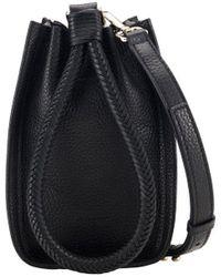 Tamara Mellon Kiss Mini Crossbody Bag - Black