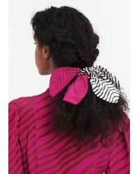 Tanya Taylor Bow Scrunchie - Multicolour