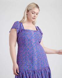 Tanya Taylor Yvette Dress - Purple