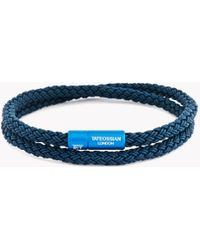Tateossian - Notting Hill Rubber Cable Bracelet - Lyst