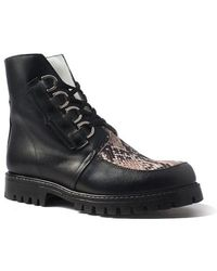 Terry De Havilland - Sienna Boot Black/natural - Lyst