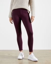 Ted Baker Schmale Jeggings Mit Zip-detail - Rot
