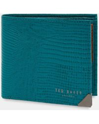 Ted Baker - Lizhurl Lizard Wallet With Coin Holder - Lyst