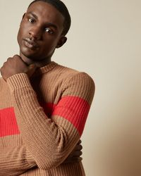 Ted Baker - Ribbed Striped Sweater - Lyst