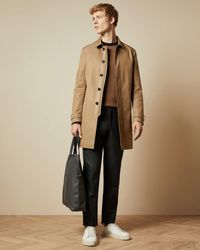 Ted Baker Trench Coat - Natural