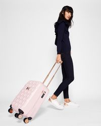 Ted Baker - Bow Detail Small Suitcase - Lyst