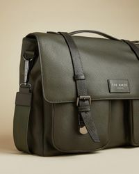 Ted Baker Leather Satchel - Green
