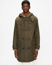 Ted Baker Duffle Coat - Green