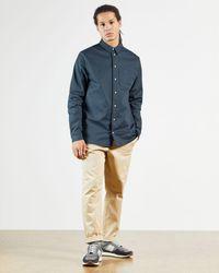 Ted Baker Long Sleeve Bound Shirt - Blue