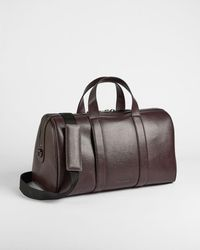 Ted Baker Saffiano Leather Holdall - Multicolor