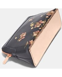 5a66fc3f8a681e Ted Baker - Arboretum Make Up Bag - Lyst