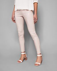 Ted Baker - Coated Skinny Jeans - Lyst