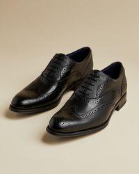 Ted Baker Zapatos Brogue Clásicos - Negro