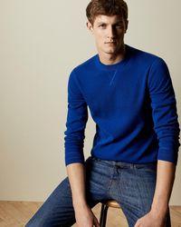 Ted Baker Knitted Jumper - Blue