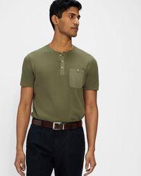 Ted Baker Reversible Leather Belt - Brown