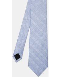 Ted Baker - Subtle Check Silk Tie - Lyst