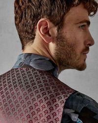Ted Baker Debonair Plain Wool Waistcoat - Blue