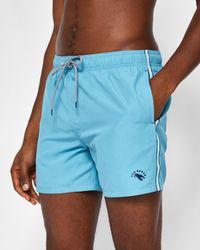 Ted Baker - Drawstring Swim Shorts - Lyst