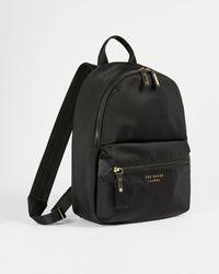 Ted Baker Nylon Backpack - Negro