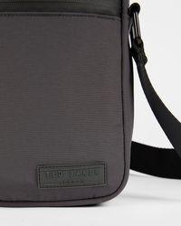 Ted Baker Paper Touch Nylon Flight Bag - Grau