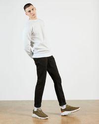 Ted Baker Tapered Leg Black Denim Jean
