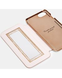Ted Baker Iphone 6/6s/7/8-hülle Im Glitzer-design - Pink