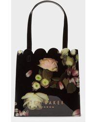 Ted Baker - Kensington Floral Small Shopper Bag - Lyst