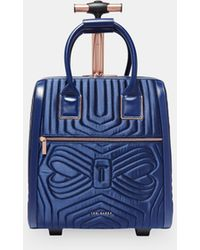 Ted Baker - Quilted Bow Travel Bag - Lyst